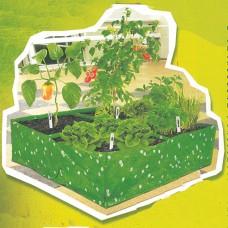 Plastični Mini Povrtnjak Sa 4 Polja