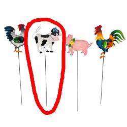 Krava na žici